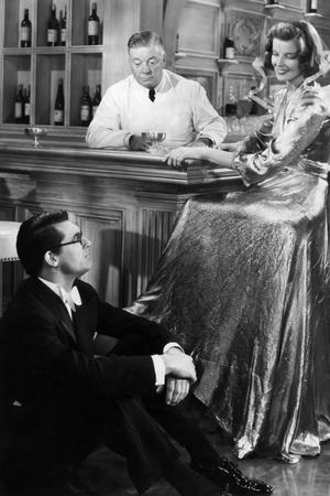 Bringing Up Baby, Cary Grant, Billy Bevan, Katharine Hepburn, 1938