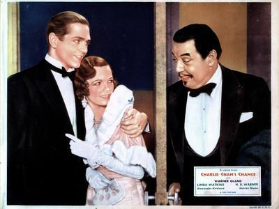 Charlie Chan's Chance, Alexander Kirkland, Marian Nixon, Warner Oland, 1932