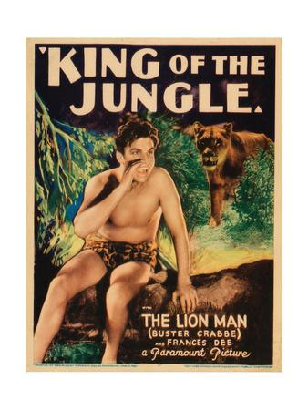 King of the Jungle, Buster Crabbe, 1933