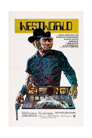 Westworld, Yul Brynner, 1973