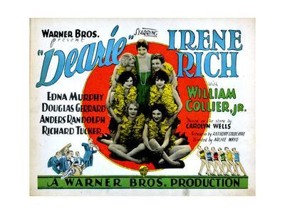 Dearie, Irene Rich, (Top Center), 1927
