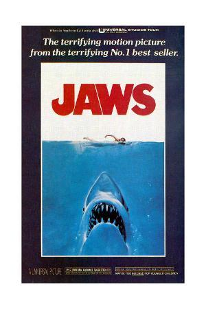 Jaws, Movie Poster, 1975