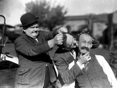 Big Business, Oliver Hardy, Stan Laurel [Laurel and Hardy], James Finlayson, 1929