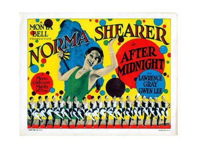 After Midnight, Norma Shearer, 1927