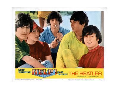 Help, George Harrison, Ringo Starr, Paul Mccartney, John Lennon, 1965