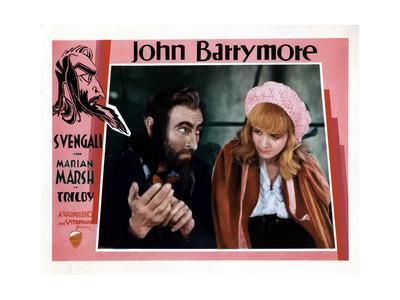 Svengali, John Barrymore, Marian Marsh, 1931