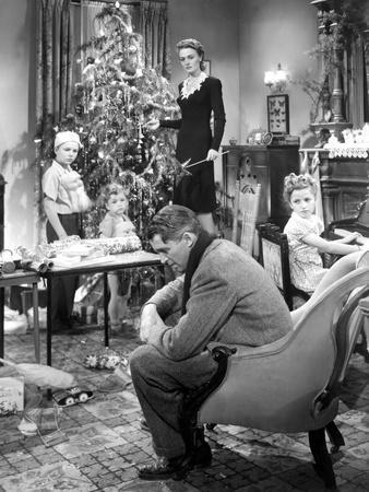 It's a Wonderful Life, Larry Simms, Jimmy Hawkins, James Stewart, Donna Reed, Karolyn Grimes, 1946