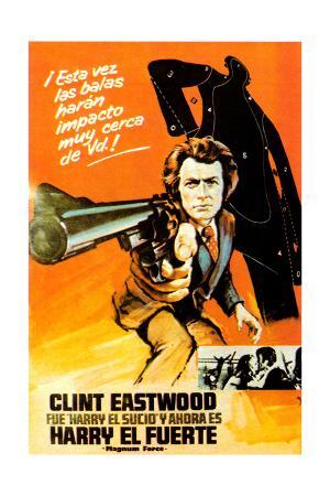 Magnum Force, (AKA Harry El Fuerte), Clint Eastwood, 1973