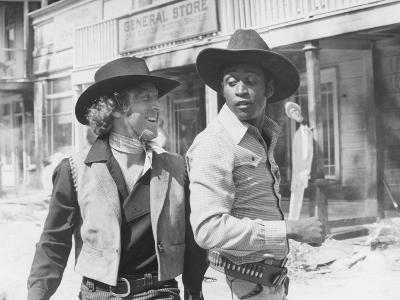 Blazing Saddles, from Left: Gene Wilder, Cleavon Little, 1974