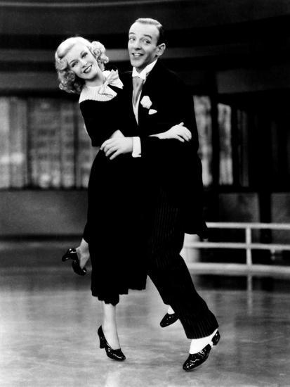 Swing Time Ginger Rogers Fred Astaire 1936 Photo Allposters Com