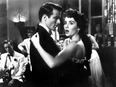 A Place in the Sun, Elizabeth Taylor, Montgomery Clift, 1951