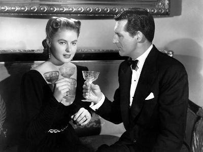 Notorious, Ingrid Bergman, Cary Grant, 1946