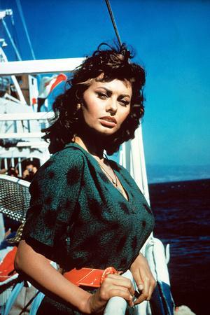 Boy on a Dolphin, Sophia Loren, 1957