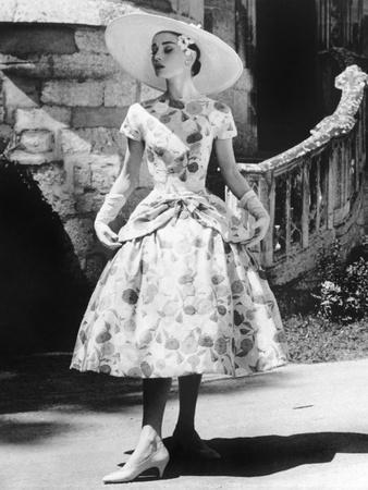 Funny Face, Audrey Hepburn (Wearing a Dress by Givenchy), 1957