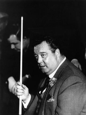 CANVAS Jackie Gleason in The Hustler Art Print POSTER