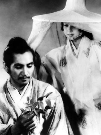 Rashomon, Masayuki Mori, Machiko Kyo, 1950