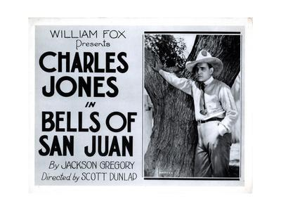 Bells of San Juan, Buck Jones, 1922