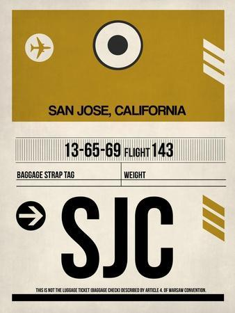 SJC San Jose Luggage Tag I