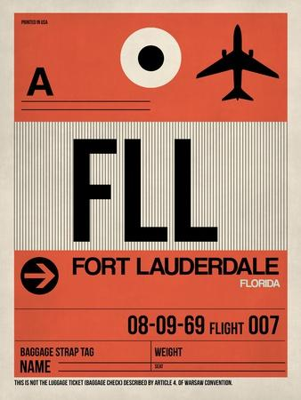 FLL Fort Lauderdale Luggage Tag I