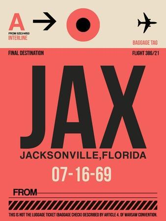 JAX Jacksonville Luggage Tag I