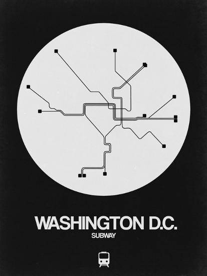 Subway Map Washington Dc.Washington D C White Subway Map