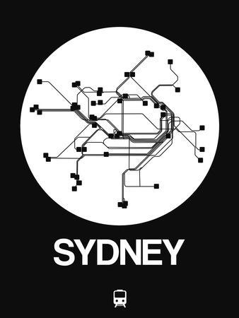 Sydney White Subway Map