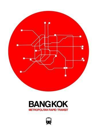 Bangkok Red Subway Map