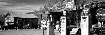 Store with a Gas Station on the Roadside, Route 66, Hackenberry, Arizona, USA