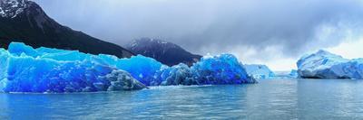 Icebergs of Upsala Glacier, Southern Patagonian Ice Field, Los Glaciares National Park