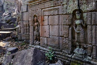 Preah Khan of Angkor, Built in 1191 by King Jayavarman Vii, Angkor