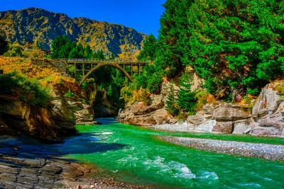 Shotover River, Queenstown, South Island, New Zealand, Pacific