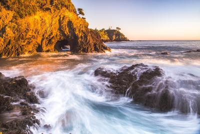 Rocky Bay at Sunrise, Tapeka Point, Russell, Bay of Islands, Northland Region