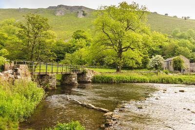 Bridge across River Wye, Stone Farm Buildings, Monsal Dale