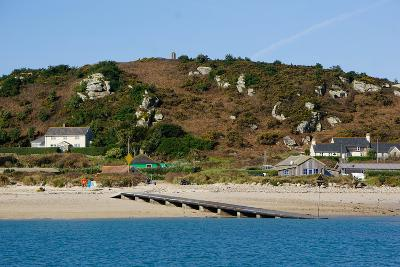 The Bar Quay on Bryher, Isles of Scilly, England, United Kingdom, Europe