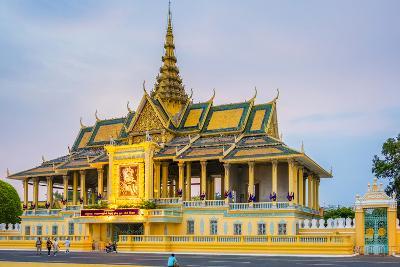 Moonlight Pavilion (Preah Thineang Chan Chhaya) of the Royal Palace, Phnom Penh, Cambodia