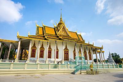 The Silver Pagoda (Wat Preah Keo Morakot), Royal Palace, Phnom Penh, Cambodia, Indochina