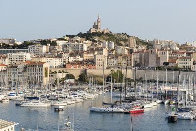 Basilique Notre-Dame De La Garde, Old Port of Marseille Harbour (Vieux Port), Marseille