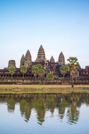 Angkor Wat, UNESCO World Heritage Site, Siem Reap Province, Cambodia, Indochina