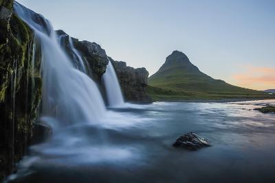 Waterfall Near Kirkjufell (Church Mountain)