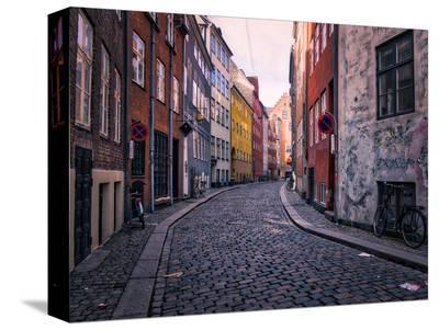 A Street Scene in Copenhagen, Denmark, Scandinavia, Europe