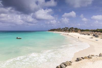 View of Divi Beach, Aruba, Lesser Antilles, Netherlands Antilles, Caribbean, Central America