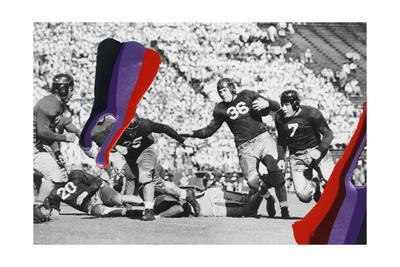 Pigment Smudge, Football Play