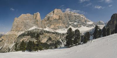 Hidden Valley Ski Area, Lagazuoi, UNESCO World Heritage Site, Dolomites, South Tyrol, Italy, Europe