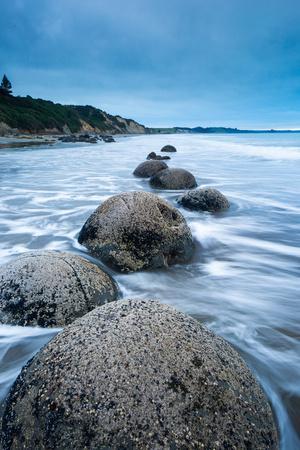Moeraki Boulders, Moeraki, Otago, South Island, New Zealand, Pacific