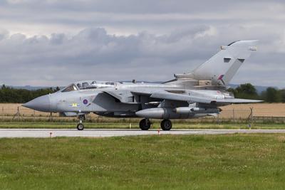 A Royal Air Force Tornado Gr4 Preparing to Take Off