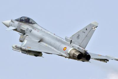 Spanish Air Force Ef-2000 Typhoon in Flight