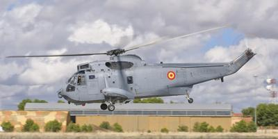A Spanish Navy Sh-3D Helicopter