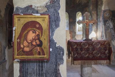 Bulgaria, Southern Mountains, Asenovgrad, Asenovgrad Fortress, Church Interior