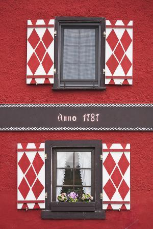 Germany, Rheinland-Pfalz, Boppard, Building Detail