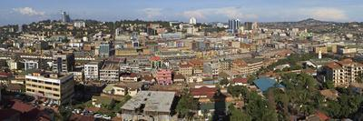 Panoramic View of Kampala, Uganda, Africa